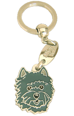 CAIRN TERRIER DARK GREY - pet ID tag, dog ID tags, pet tags, personalized pet tags MjavHov - engraved pet tags online